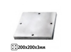 Площадка 200x200x3 мм