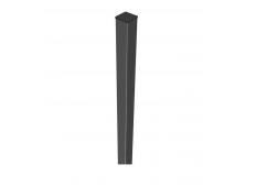 Столб заборный профильный 60*40 мм. L-2500 мм